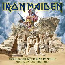 CDClub - Iron Maiden-Somewhere Back In Time 80-89/Best/CD/New/